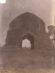 Mahomedan tomb at Irich, Jhansi District